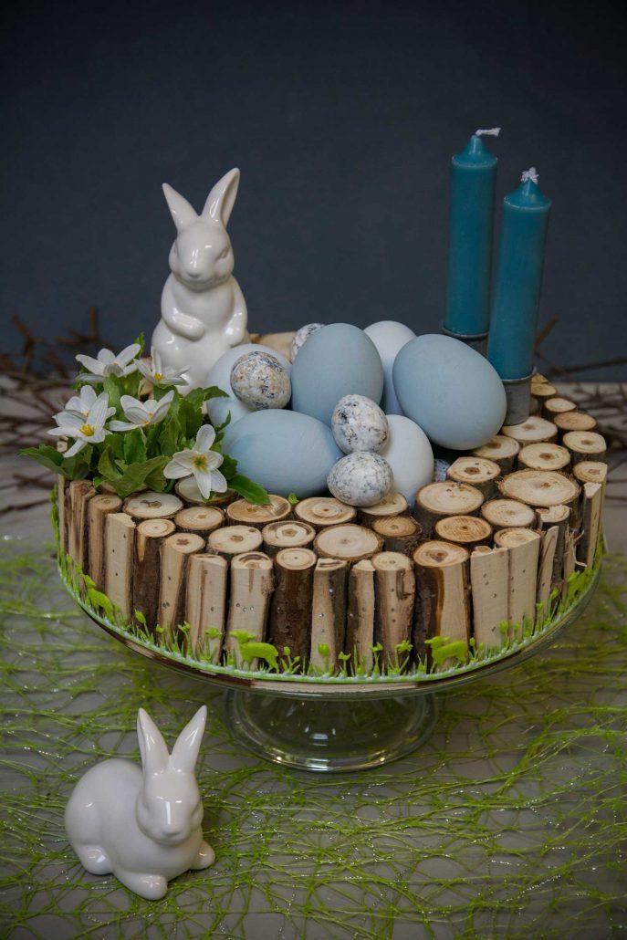 ? Pynt til påske med påskeæg - brug påskeæggene kreativt