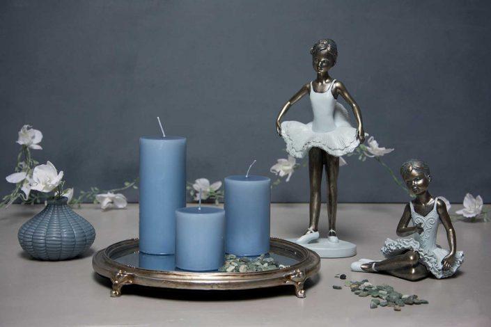 Bolig dekoration - spejlbakke med ballerinaer