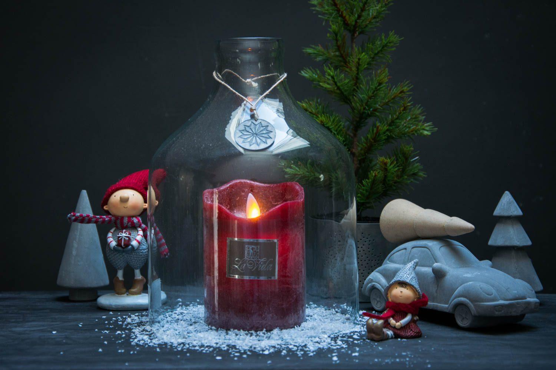 Julepynt - LED bloklys og nisser