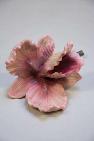Pynt til hjemmet - kunstig orkide blomst